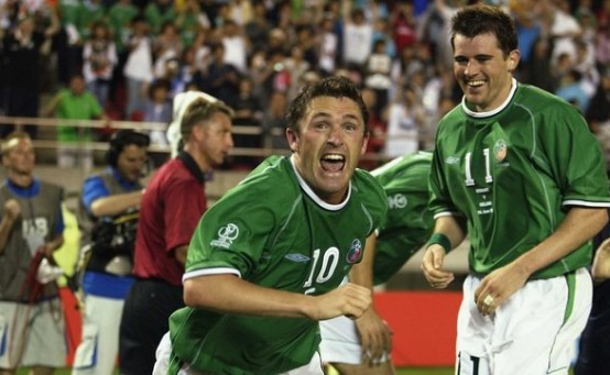 Robbie Keane V Germany 2002
