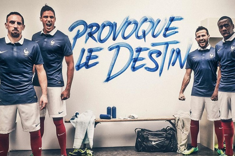 Nike X France Provoque le Destin