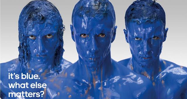 It's Blue. What Else Matters?