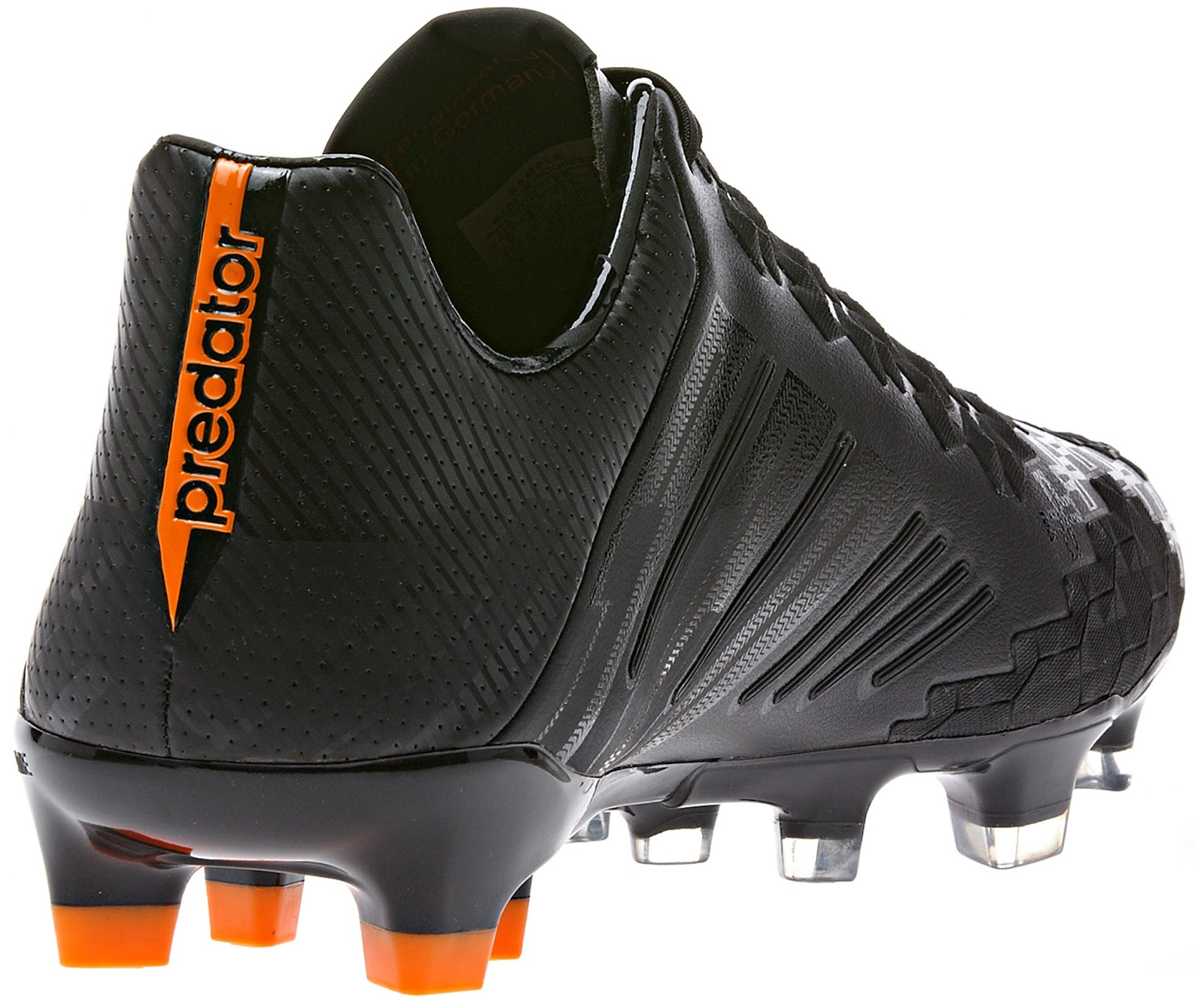 finest selection 72cc6 fea9f Adidas Predator LZ II Blackout