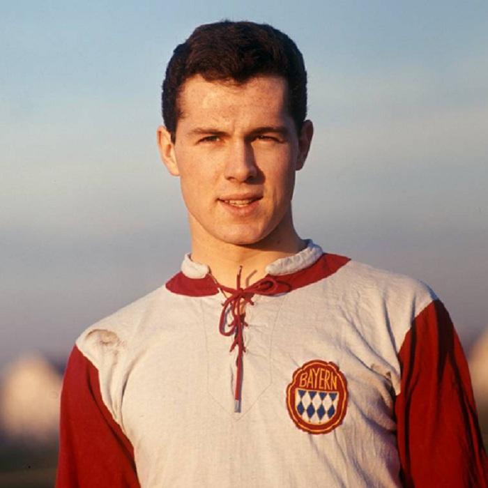 Bayern 60's Home Franz Beckenbauer