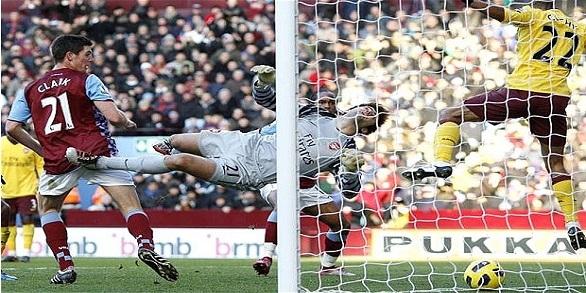 Clark v Arsenal