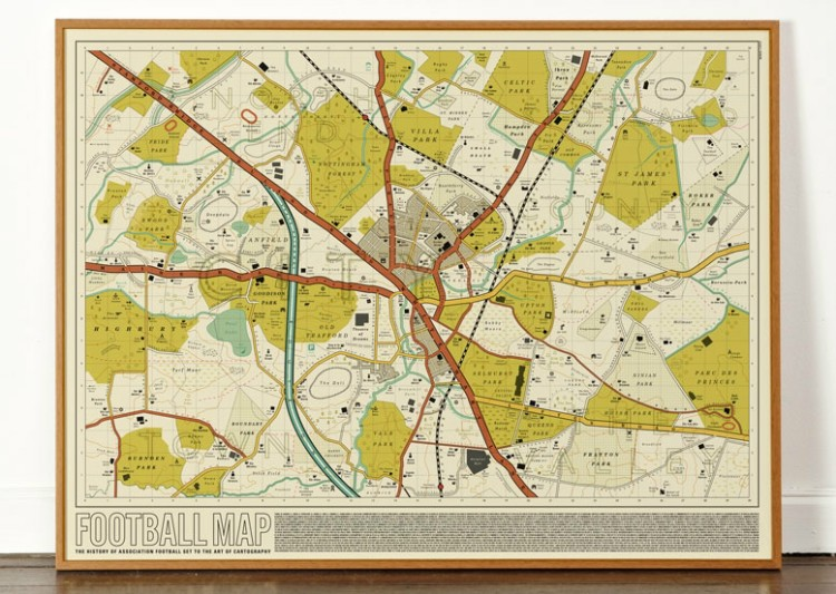 Dorothy 0100 Football Map C Web Frame