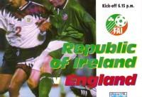 Ireland v England 1995