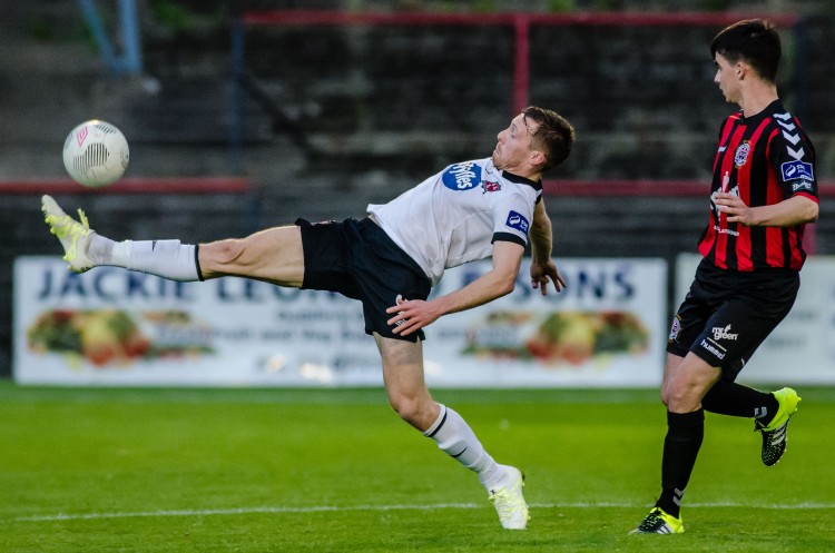 AUGUST 28: X during the match between Bohemians v Dundalk - SSE Airtricity League Premier Division at Dalymount Park in Dublin, Republic of Ireland. (Photo by Tom Beary/oneshotbeary.com)