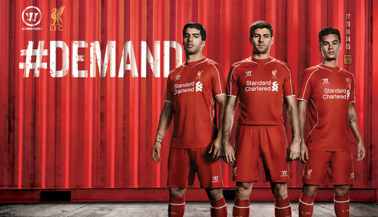 Liverpool 14 15 Home Kit