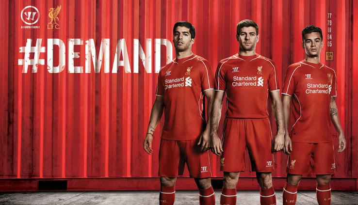 3bb25baaa Liverpool 2014-15 Home Shirt