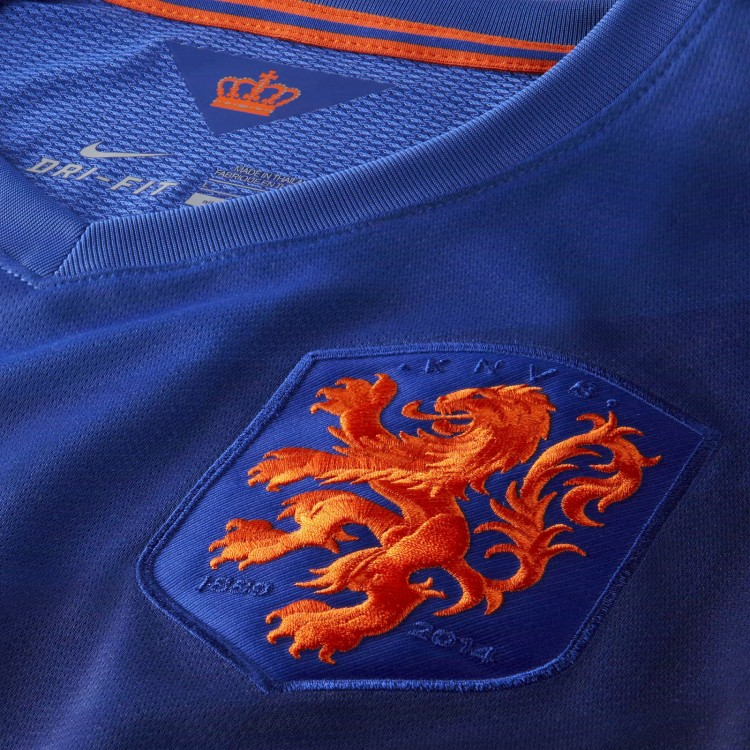 Netherlands 2014 World Cup Away Kit (3)