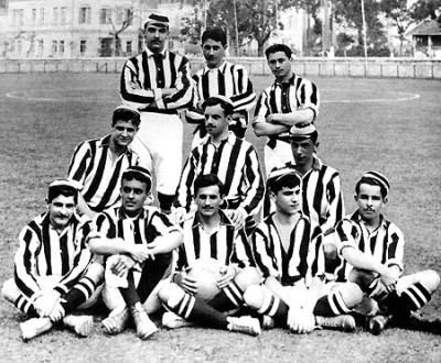 The team that won its first Campeonato Carioca in 1907.