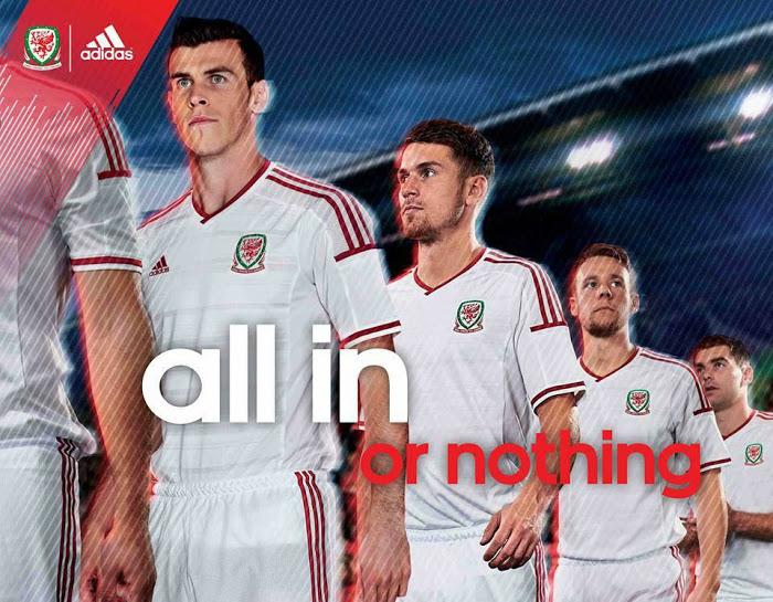 Wales 2014 Away Kit 1