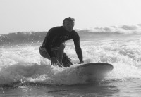 beck surfs