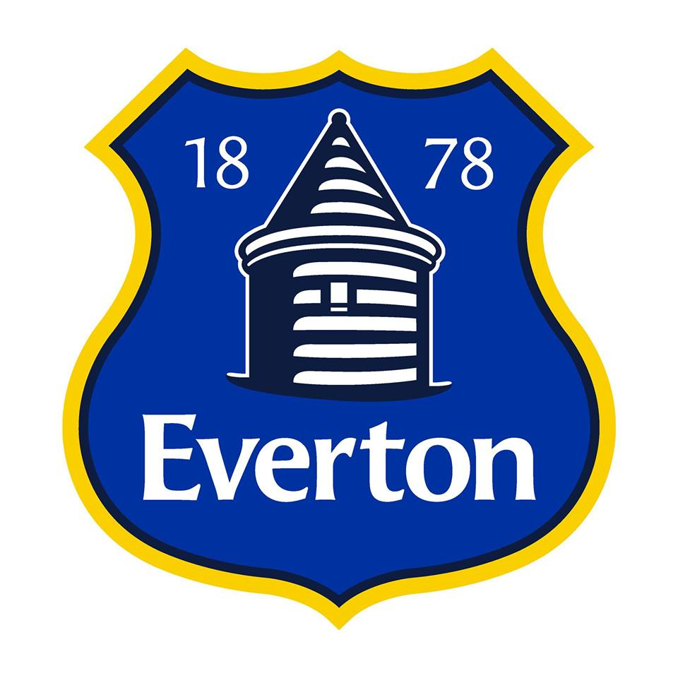 The Everton crest this season that provoked a backlash from fans