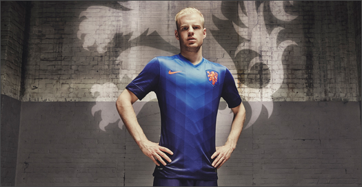 100% authentic 3ffe9 f1522 Nike Holland Away Kit 2014