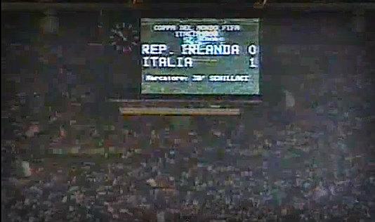ireland italy 1990