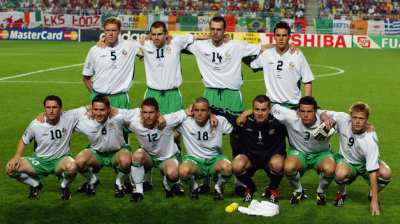 irish team 2002