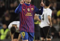 messi four goals