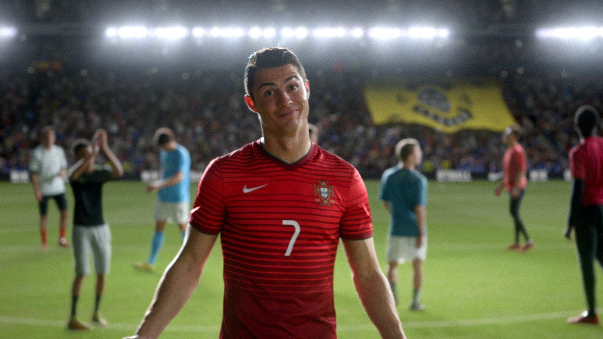 nike world cup ad ronaldo