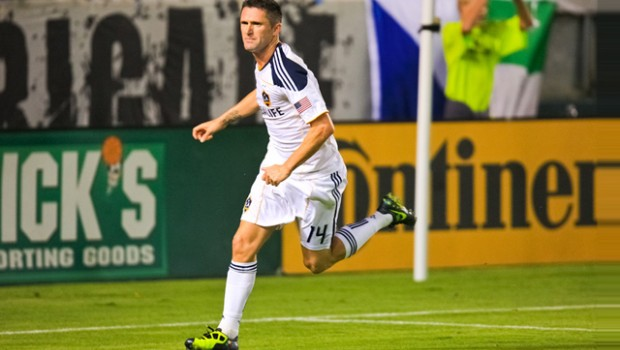 robbie keane la galaxy action