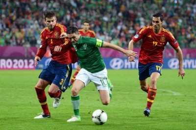 robbie keane vs spain