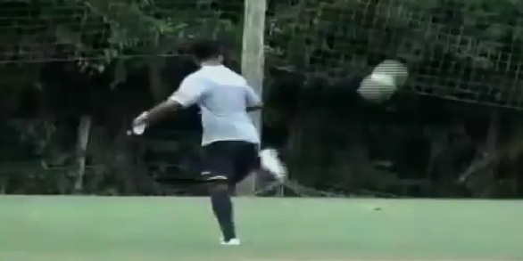 ronaldinho training vid
