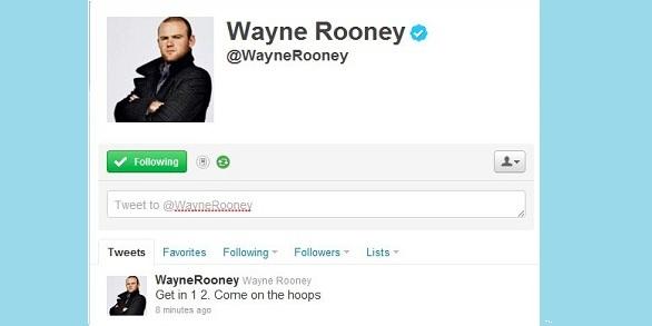 rooney twitter celtic