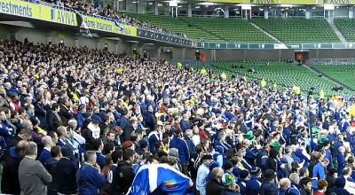 scotland fans aviva stadium