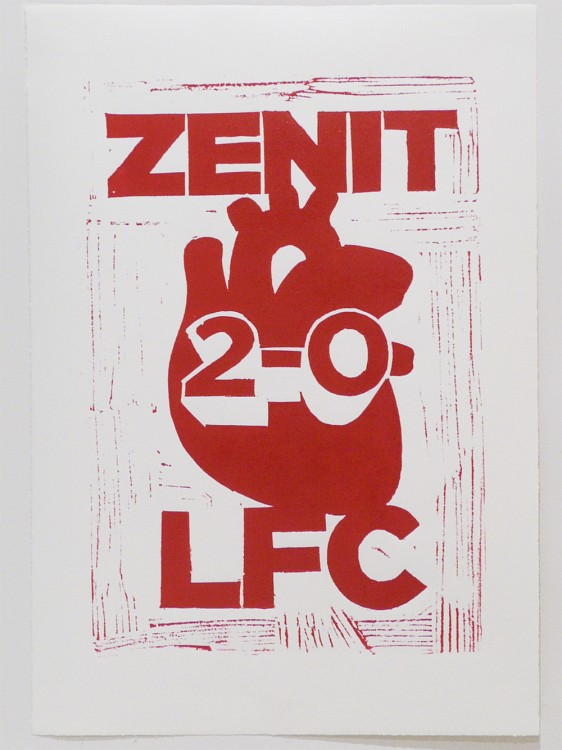 Hand Printed Liverpool Results