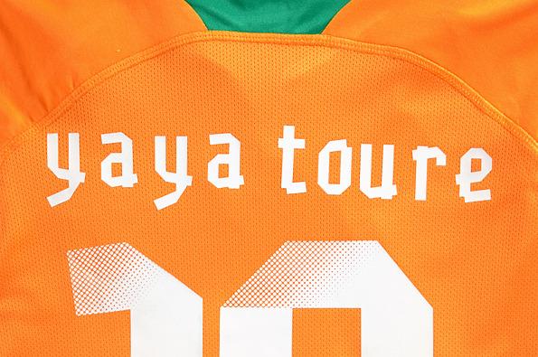 Yaya Toure Puma Shirt
